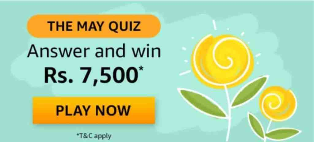 Amazon The May Quiz