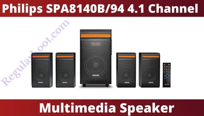 Philips SPA8140B/94 4.1 Channel Multimedia Speaker